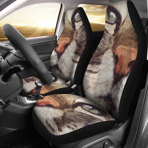 Car Seat Covers - Cat Lovers 06