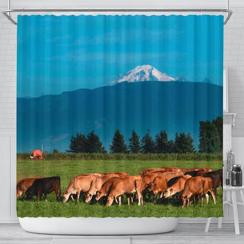 Shower Curtain - Cow Lovers 14