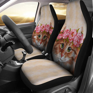 Car Seat Covers - Cat Lovers 07