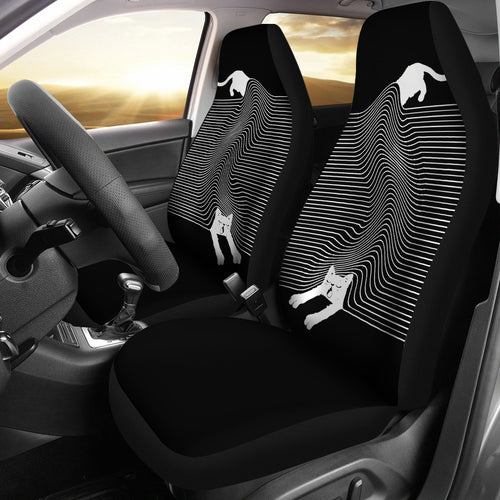 Car Seat Covers - Cat Lovers 18