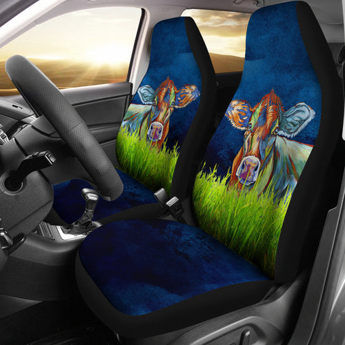 Car Seat Covers - Cow Lovers 22