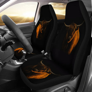 Car Seat Covers - Cow Lovers 05