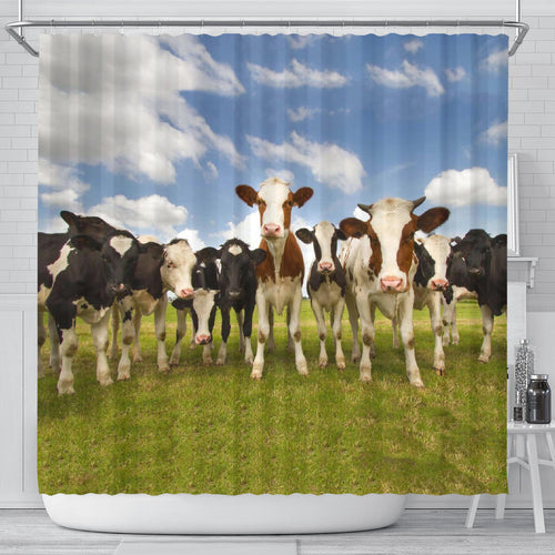 Shower Curtain - Cow Lovers 02