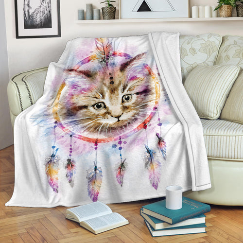 Premium Blanket Printed-sk03 for Cat Lovers