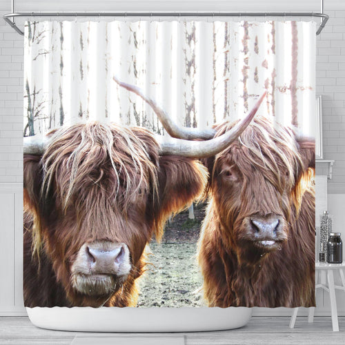 Shower Curtain - Cow Lovers 07