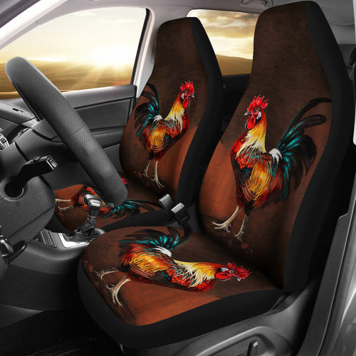 Car Seat Covers - Chicken Lovers 05