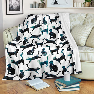 Premium Blanket Printed-sk02 for Cat Lovers
