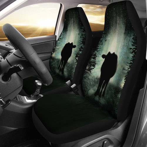 Cow dark - Car Seat Covers