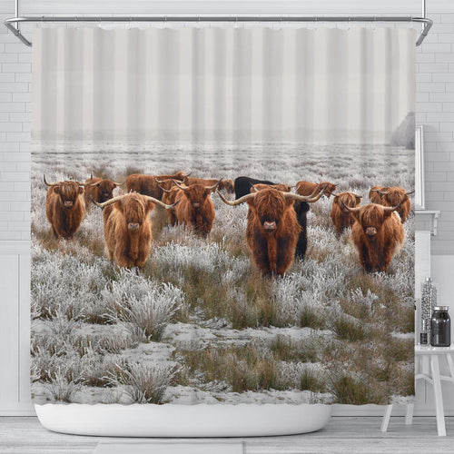 Shower Curtain - Cow Lovers 06