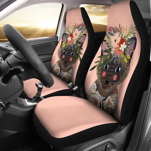 Car Seat Covers - Cat Lovers 12