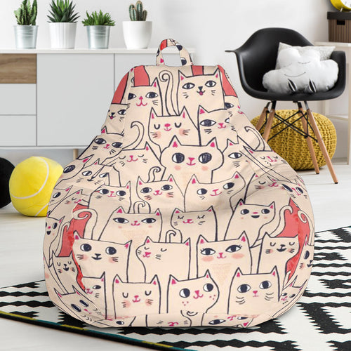 Bean Bag Chair - Cat Lovers 03