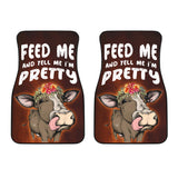 Front car mats (set of 2) - Cow Lovers 10