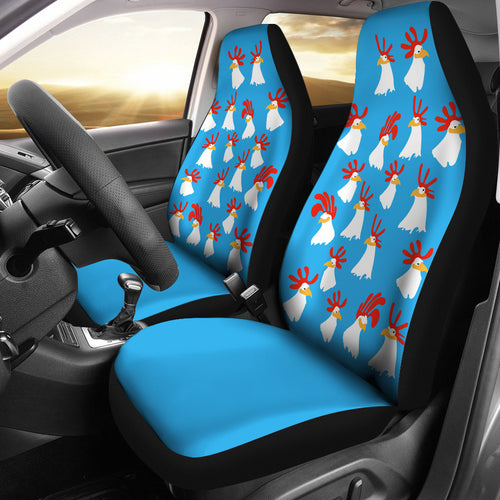 Car Seat Covers - Chicken Lovers 08