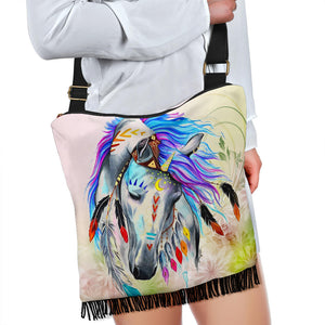 Crossbody Handbag - Horse Lovers 01