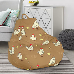 Bean Bag Chair - Chicken Lovers 05