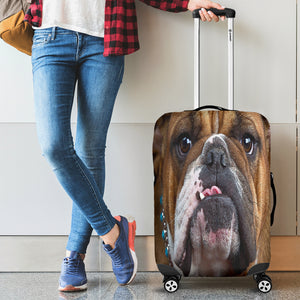 Bull Dog Luggage Cover