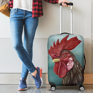 Luggage Cover - Chicken Lovers 01