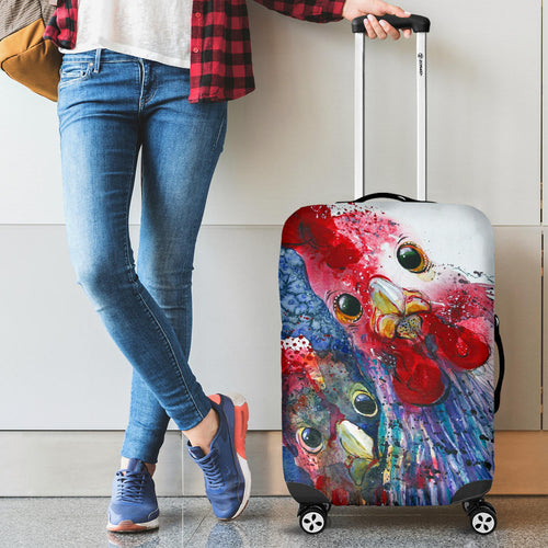 Luggage covers - Chicken 04