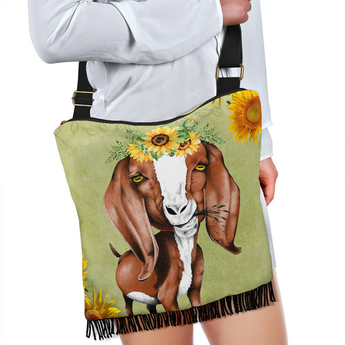 Crossbody Handbag - Goat Lovers 01