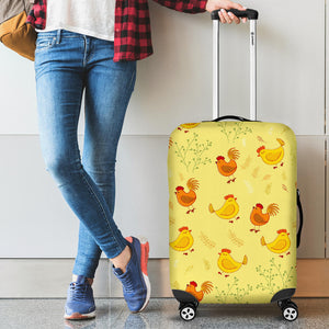 Luggage covers - Chicken 01