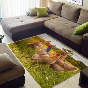 Area Rug - Chicken Lovers 07