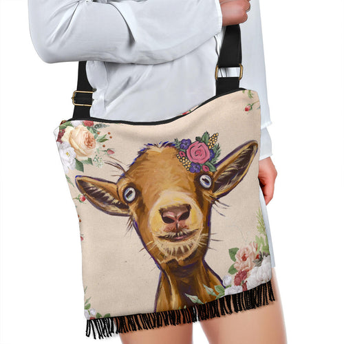 Crossbody Handbag - Goat Lovers 03