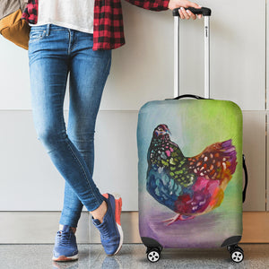 Luggage Cover - Chicken Lovers 02