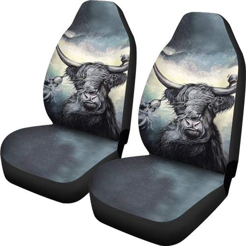 Car Seat Covers - Cow Lovers 08