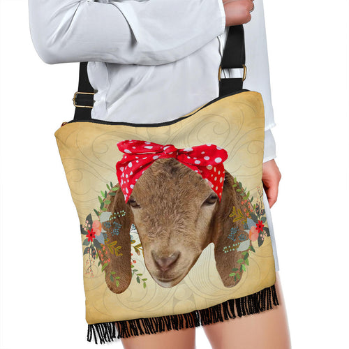 Crossbody Handbag - Goat Lovers 02