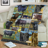 Premium Blanket Cute Cow Printed-sk02