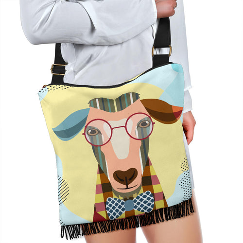 Crossbody Handbag - Goat Lovers 04