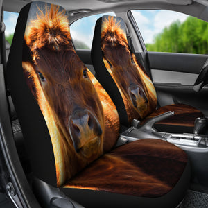Car Seat Covers - Cow Lovers 30