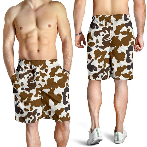 All over print men's shorts - cow 5