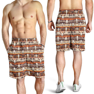 All over print men's shorts - cow 1