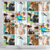Shower Curtain - Cow Lovers 09