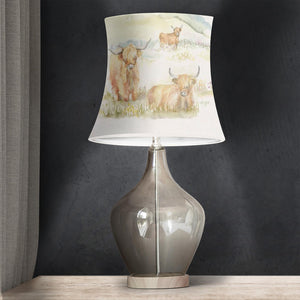 Drum Lamp Shade - Cow Lovers 07