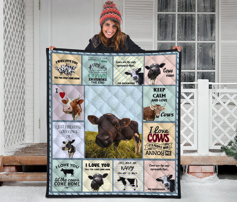 Quilt for Cow Lovers 13