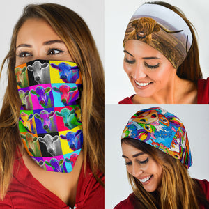 A set of 3 bandanas for Cow Lovers 02