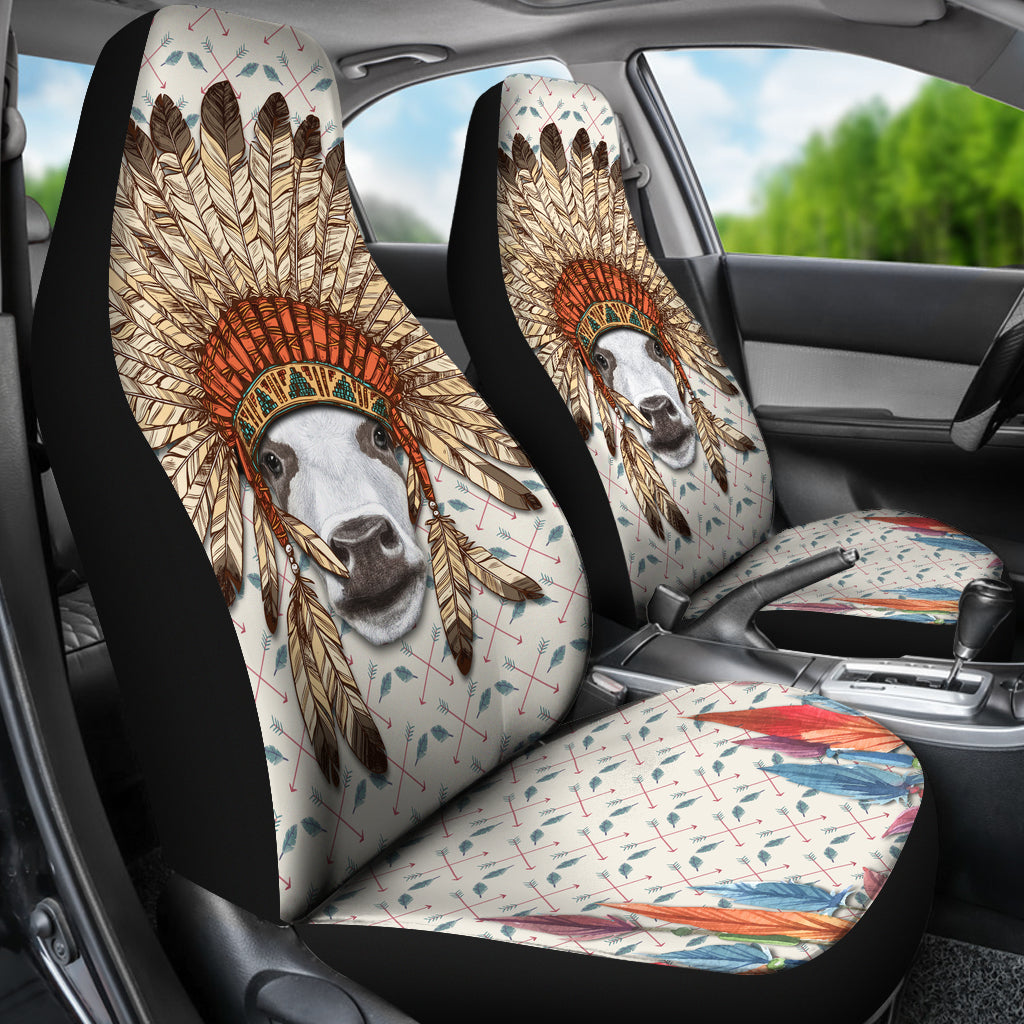 Indian Cow 2 Car Seat Covers Barnsmile Com