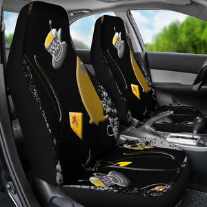 Cats and Tea Car Seat Cover