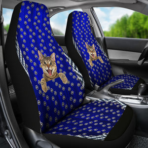 Meow cat Car Seat Covers