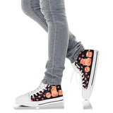 High Top Canvas Shoe - Pig 01 for Men & Women