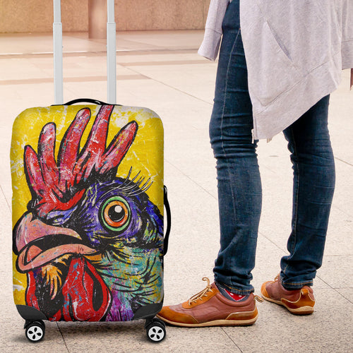 Luggage covers - Chicken 02