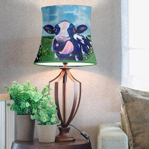 Drum Lamp Shade - Cow Lovers 09