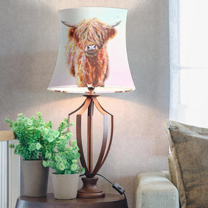 Drum Lamp Shade - Cow Lovers 08