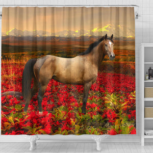Shower Curtain - Horse Lovers 02