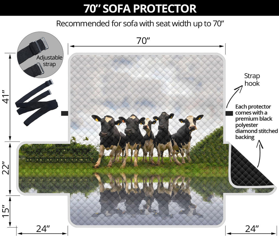 Sofa Protector - Cow Lovers 06