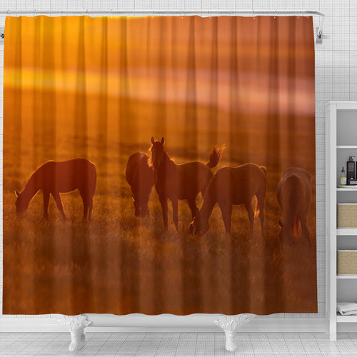 Shower Curtain - Horse Lovers 04