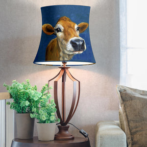 Drum Lamp Shade - Cow Lovers 12
