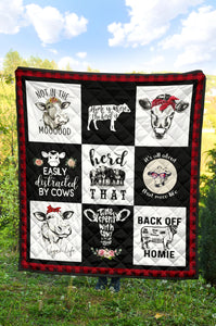 Quilt for Cow Lovers 26